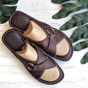 Covington Leather Wedge Sandals Woman's Size 11